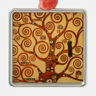 A Tree of Life Metal Ornament