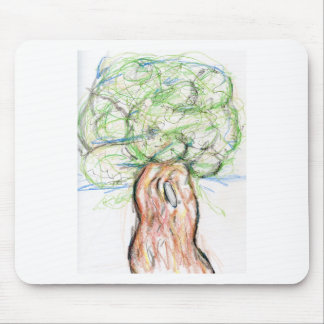 A Tree of my own imagination Mouse Pad