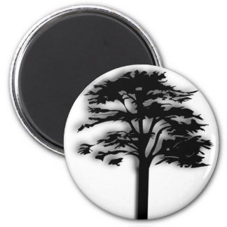 A Tree Refrigerator Magnets
