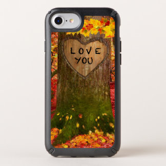 A TREE WITH A BIG HEART SPECK iPhone CASE