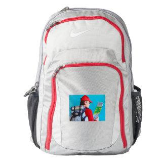 A Trekker with his Nike Performance Backpack, Nike Backpack