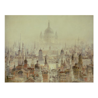 A Tribute to Sir Christopher Wren Postcard