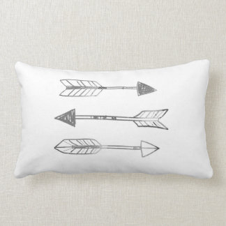 A Trinity of Arrows by VOL25 Throw Pillow