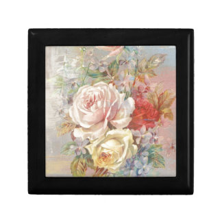 A Trio Of Roses - Vintage Design Jewelry Box