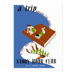 A Trip Around The World at Story Hour Time Post Cards