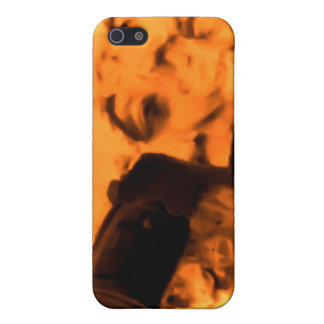 A Trip to the Moon (Blood Orange Sepia) Cover For iPhone 5