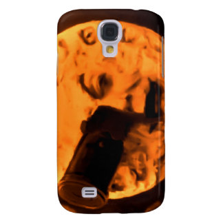 A Trip to the Moon (Blood Orange Sepia) Samsung S4 Case