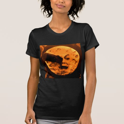 A Trip to the Moon (Blood Orange Sepia) T-shirt