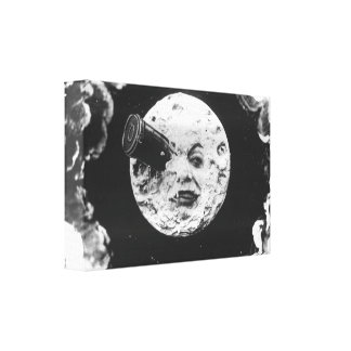 A Trip to the Moon Canvas Print