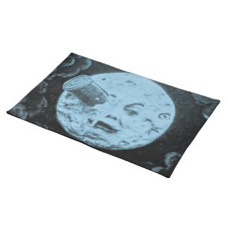 A Trip to the Moon (Chalked Blue) Placemat