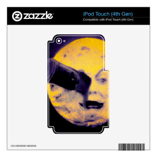 A Trip to the Moon Deep Sleep Purple Nightmare iPod Touch 4G Decals