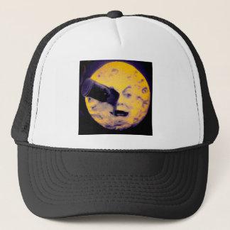 A Trip to the Moon Deep Sleep Purple Nightmare Trucker Hat