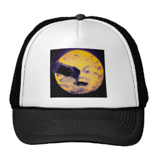 A Trip to the Moon Deep Sleep Purple Nightmare Trucker Hat