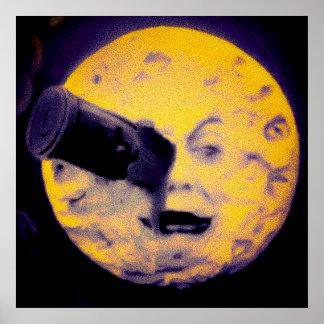 A Trip to the Moon Deep Sleep Purple Version Poster