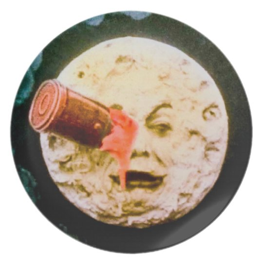 A Trip to the Moon Dinner Plate