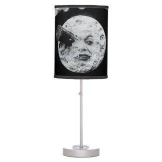 A Trip to the Moon Georges Melies Sci-fi Film Desk Lamp