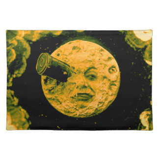 A Trip to the Moon (Golden Sky) Placemats