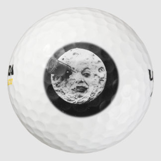 A Trip to the Moon Pack Of Golf Balls