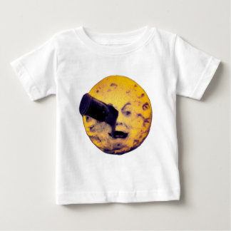 A Trip to the Moon Halloween Edition VIntage Cool Baby T-Shirt