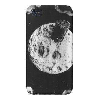 A Trip to the Moon iPhone 4 Cases