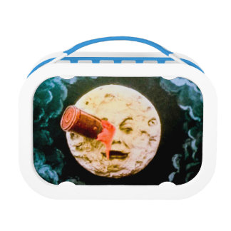A Trip to the Moon Martian Hand Colored Edition Lunch Box