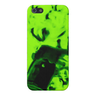 A Trip to the Moon (Martian Retro Green) Case For iPhone 5
