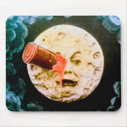 A Trip to the Moon Mouse Pads