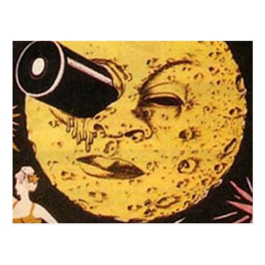 A Trip to The Moon Movie Poster Postcard