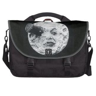 A Trip to the Moon or Le Voyage dans la Lune Retro Laptop Bag