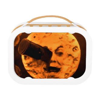 A Trip to the Moon Orange Sherbet Edition Lunch Box