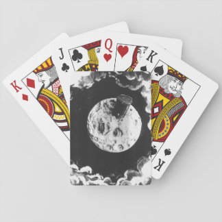 A Trip to the Moon Poker Deck