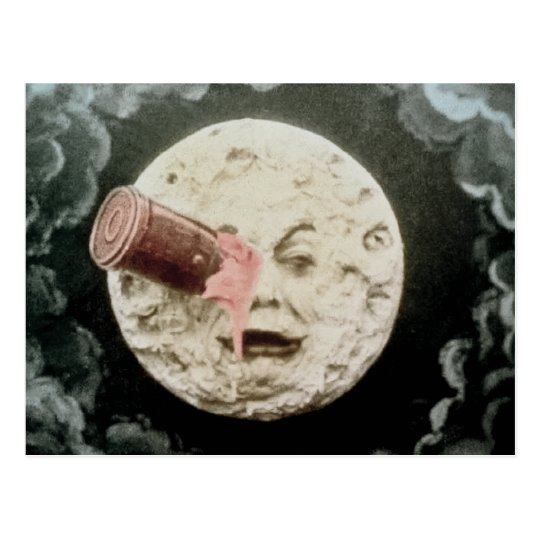 A Trip to the Moon Postcard