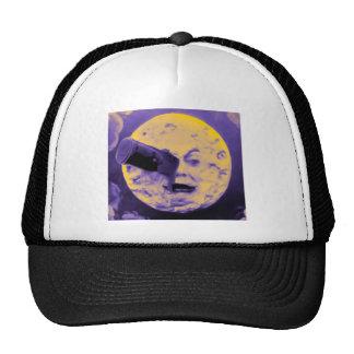 A Trip to the Moon (Purple Fizzy Fuzz) Trucker Hats