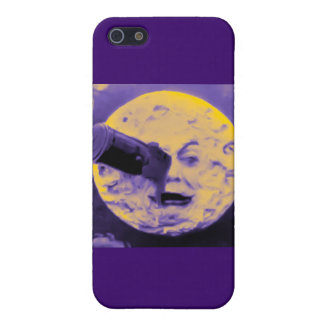 A Trip to the Moon (Purple Fizzy Fuzz) iPhone 5 Covers