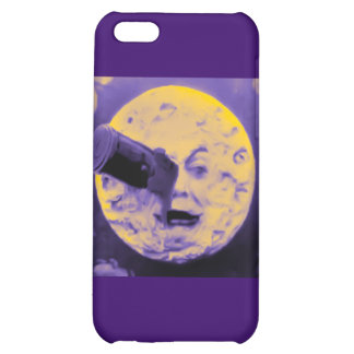 A Trip to the Moon (Purple Fizzy Fuzz) iPhone 5C Case
