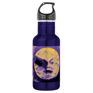 A Trip to the Moon Purple 18oz Water Bottle