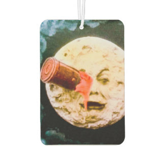 A Trip to the Moon Retro Fench Cinema Car Air Freshener