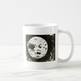 A Trip to the Moon Ringer Coffee Mug
