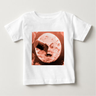 A Trip to the Moon (Sepia Rose) Baby T-Shirt