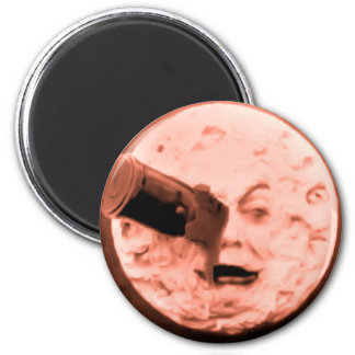 A Trip to the Moon (Sepia Rose) Magnet