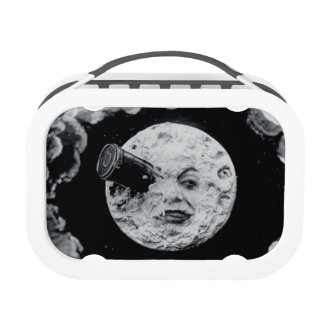 A Trip to the Moon Vintage Black and White Edition Lunch Box