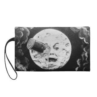 A Trip to the Moon Vintage French Cinema Wristlet