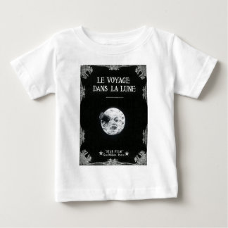 A Trip to the Moon Vintage Retro French Cinema Baby T-Shirt