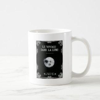 A Trip to the Moon Vintage Retro French Cinema Coffee Mug