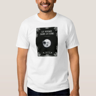 A Trip to the Moon Vintage Retro French Cinema T-Shirt
