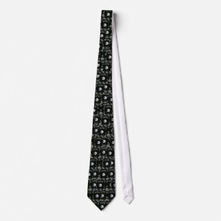 A Trip to the Moon Vintage Retro French Cinema Tie