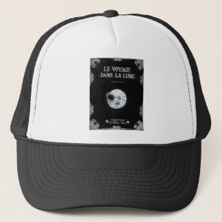A Trip to the Moon Vintage Retro French Cinema Trucker Hat