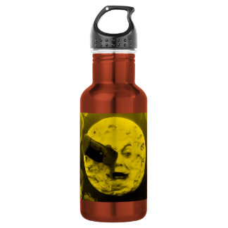A Trip to the Moon Yellow 18oz Water Bottle