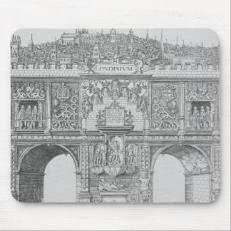 A Triumphal Arch, engraved by William Kip, 1604 Mouse Pad