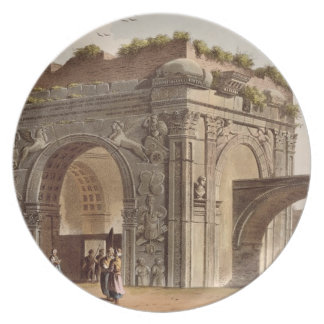A Triumphal Arch of Tripoli in Barbary, plate 24 f